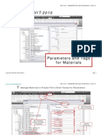 20091101-REVIT 2010-Parameters and Tags for Materials