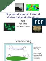 Vortex induced vibration