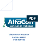 Alfacon Jose Comecando Do Zero Lingua Portuguesa Do Zero Pablo Jamilk 1o Enc