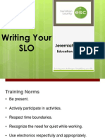 SLO Writing Mt Healthy