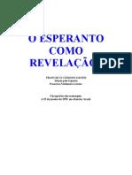 Xavier Candido F O Esperanto Como Revelação