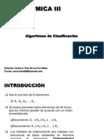 CLASIFICACION ANALISIS Y DISEÑO