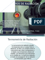 TERMÓMETROS DE RADICACIÓN