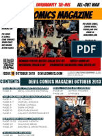 Devil Comics Magazine October 2013