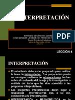 004 Interpretacion