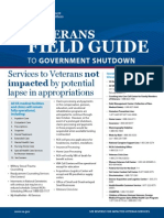 Veterans Field Guide to Government Shutdown