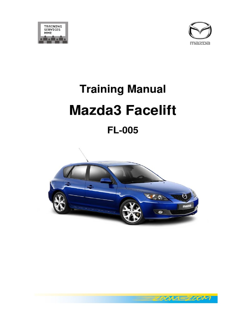 Mazda 3 Service Manual: Oil Filter Replacement Mzr 2.0, Mzr 2.5