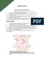 urine acidification