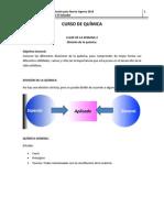 Quimica_Semana 2_Division de La Quimica