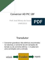 Conversor AD PIC 18F