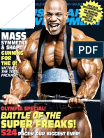Muscular Development - October 2007 - SH Team