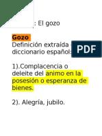 Estudio El Gozo (Dizq)