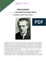 Desolazione - Una prosa inedita di G. Trakl - Il cammino a ritroso verso la luce