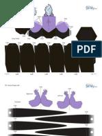 3d Ursula Papercraft 0910