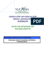 6.3 ESTRUCTURA SOCIOECONÓMICA DEL MÉXICO CONTEMPORANEO