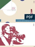 Brochure Talleres Internacionales Cine Digital UASD 2013