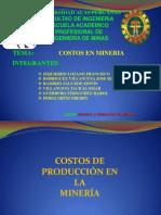 Gestion y Direccion de Minas Costos