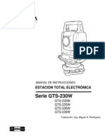 Manual en Español GTS-230W
