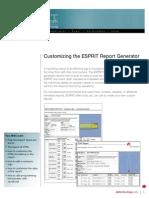 Esprit report generator