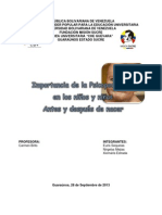 CARACTERIZACIÓN PSICOPEDAGÓGICA DEL PERIODO PRE