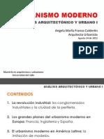 1. Urbanismo Moderno MAU