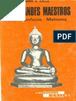 23 - Calle Ramiro - Tres Grandes Maestros Buda Confuncio Mahoma