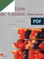Alain Ducasse - Desserts et Patisserie