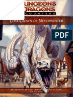 AD&D - Forgotten Realms - Lost Crown of Neverwinter