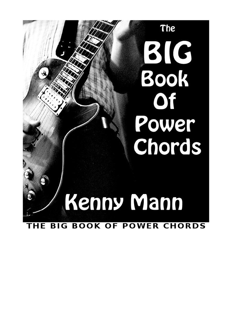 The Big Book Of Power Chords Musical Instruments Musicology