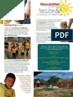 La Escuela Los Algarrobos Newsletter October 2013 English