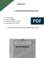Cap 4 Conceitos Financeiros