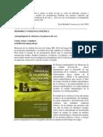 Antropologia y Generos Del Yo