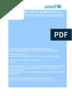 Campana Por El Derecho a La Educacion de Los Adolescentes (1)