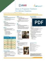 Harmonizing Malaria in Pregnancy Guidance