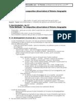 elements de méthodologie de la dissertation d'histoire géographie