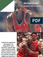 Michael Jordan - El secreto de mi éxito