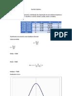 Revisão Estatística
