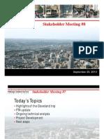 Stakeholder Meeting 8 2013-09-25
