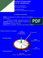 vias de administra e Introdução a Farmacologia
