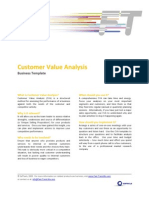 FTM Business Template - Customer Value Analysis
