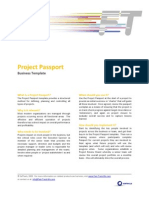 FTM Business Template - Project Passport