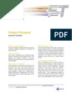 FTM Business Template - Project Passport