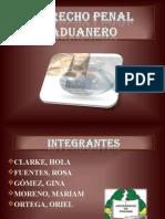 DERECHO PENAL ADUANERO PANAMEÑO - DIAPOSITIVAS