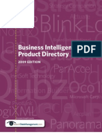 Business Intelligence Product Directory 2009