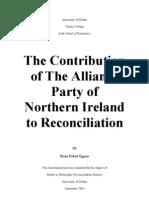Northern Ireland Reconciliation
