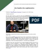 A polêmica dos laudos dos suplementos alimentares.doc