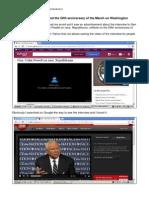 Gen Colin Powell 50 Anniversary March