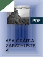 1Friedrich Nietzsche Asa Graita Zarathustra