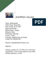 Ghufran Driver