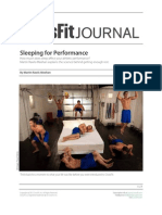 Crossfit - How Important is Sleep